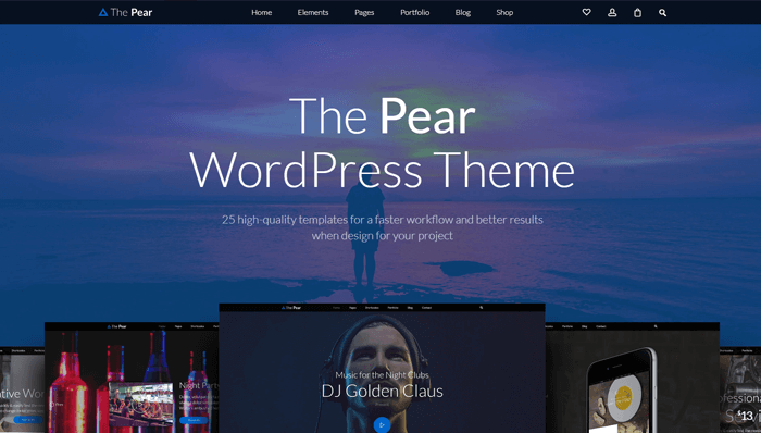 Pear WordPress Thema
