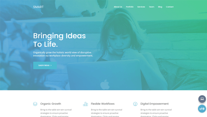 Smart WordPress Thema