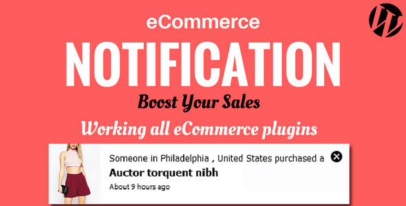 Ecommerce Notification