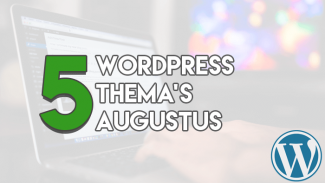 Top 5 Premium WordPress Thema's