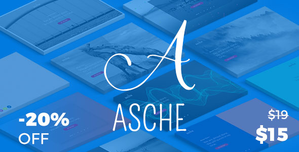 Asche Coming soon & Maintenance plugin