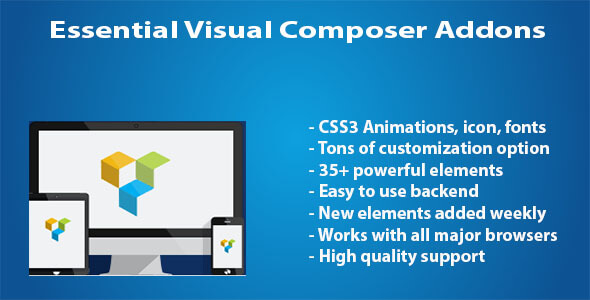 Essential Visual Composer Addons