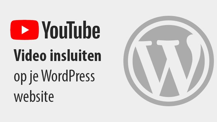 Hoe je YouTube video's kunt embedden op je WordPress website