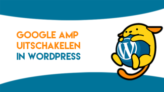 Google AMP uitschakelen in WordPress