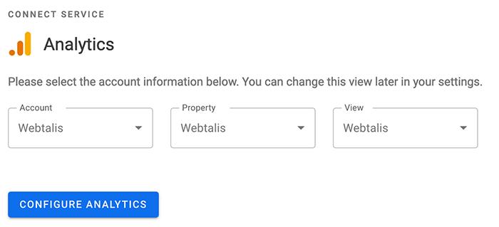 Google Analytics koppelen aan WordPress