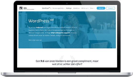 Xel WordPress hosting provider