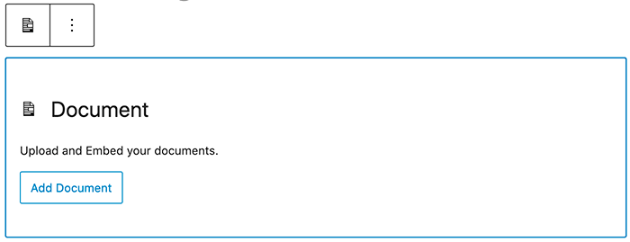Document toevoegen aan een bericht of pagina