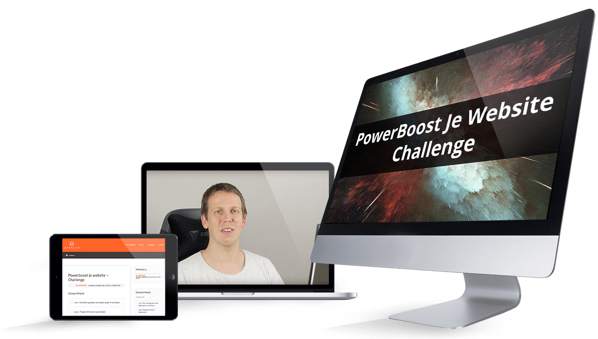 PowerBoost je website Challenge