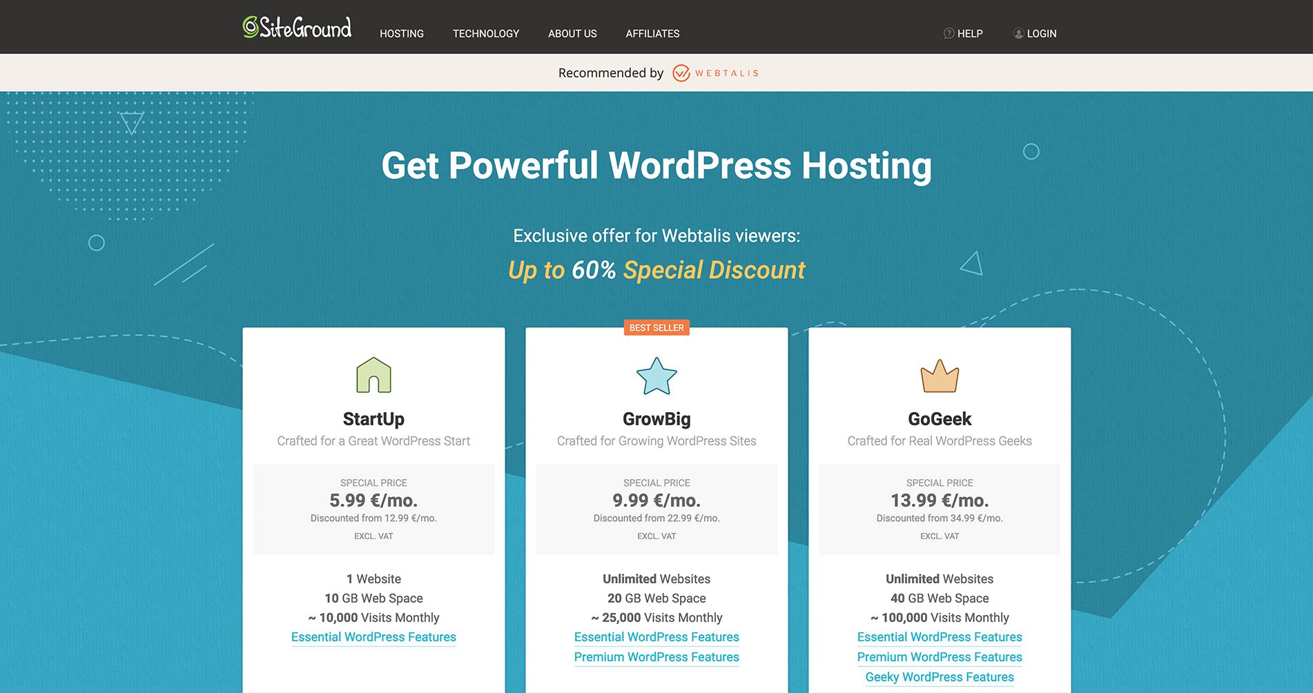 siteground-hostingpakketten-webtalis