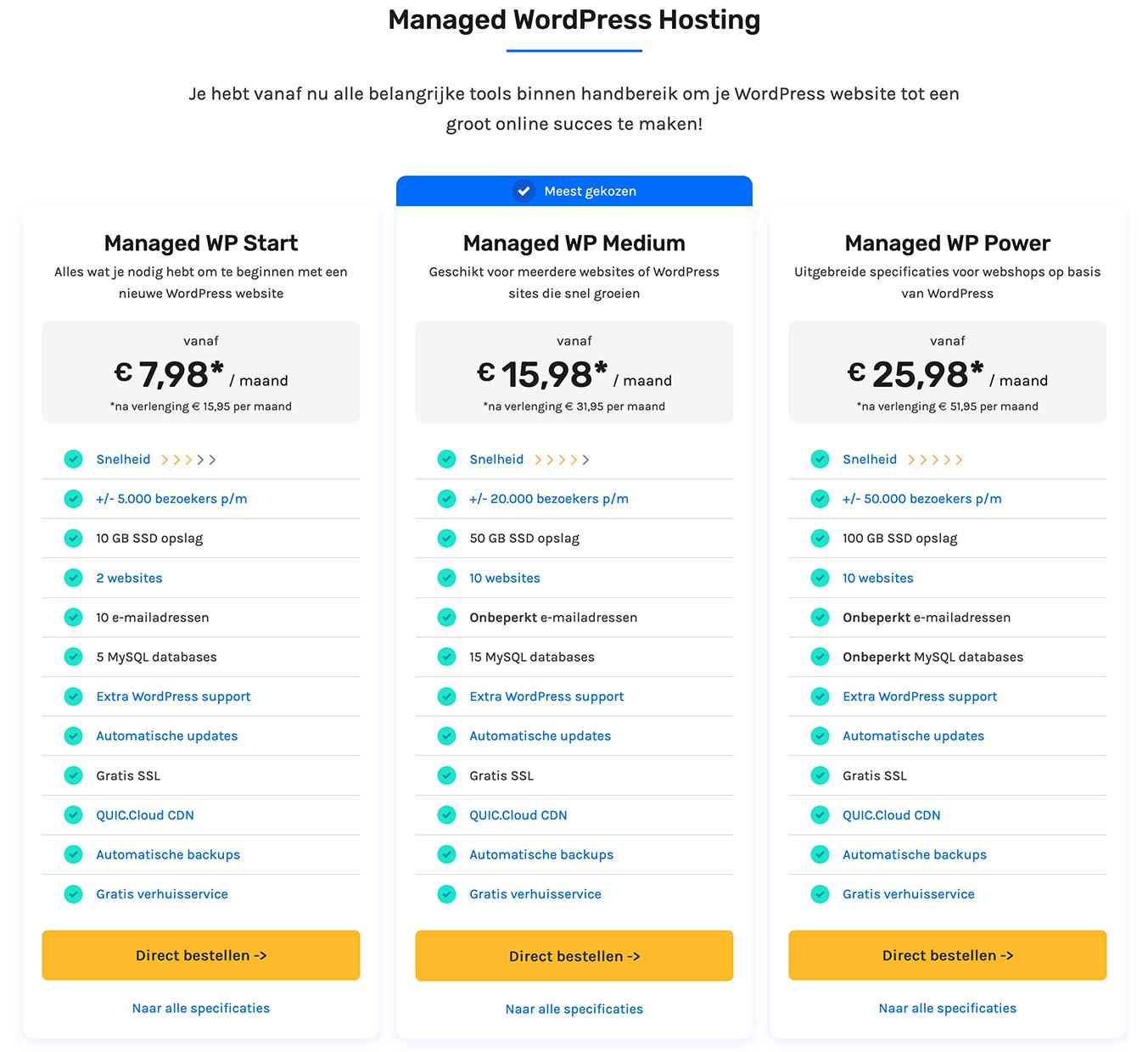 Cloud86 Managed WordPress hosting