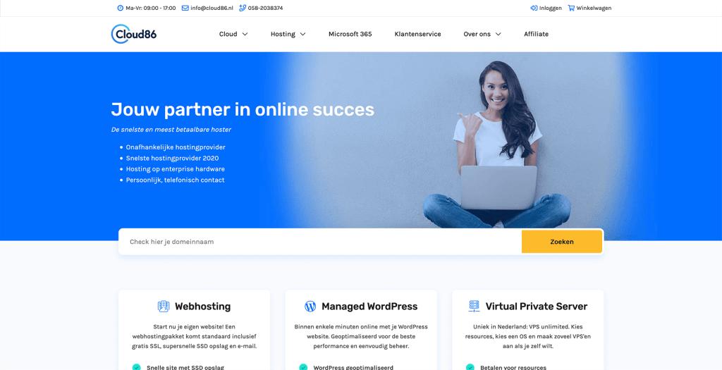 cloud86-website