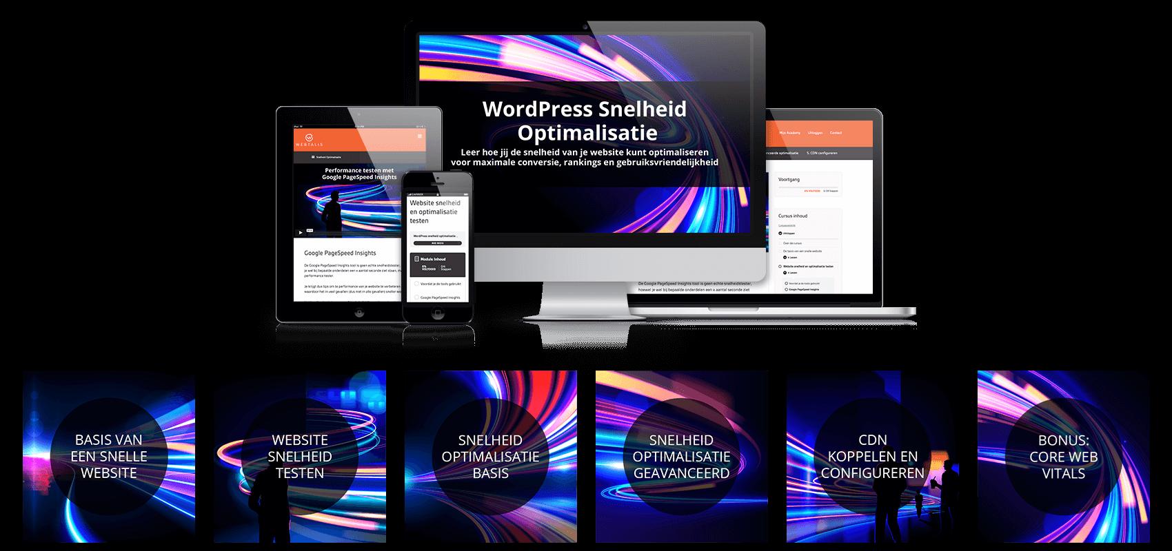 WordPress snelheid optimalisatie training