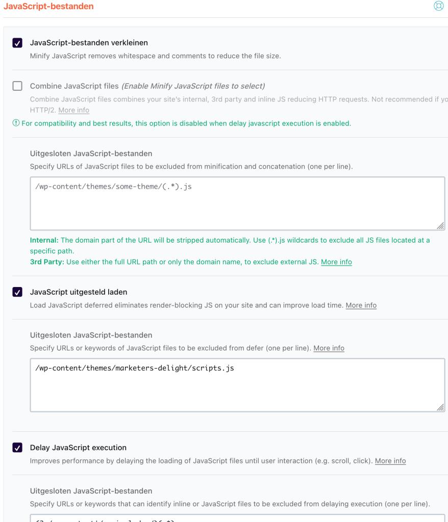 JavaScript verkleinen en uitgesteld laden en uitvoeren